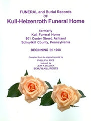 Funeral and Burial Records of Kull-Heizenroth Funeral Home