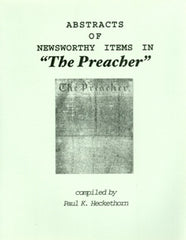 Abstracts of Newsworthy Items in The Preacher