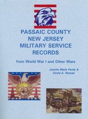 Passaic County, NJ Military Service Records from WW I and Other Wars