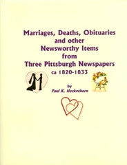 Marriages, Deaths, Obituaries and Other Noteworthy Items…