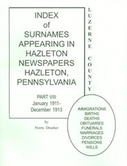 Index of Surnames Appearing in Hazleton Newspapers, Part VIII