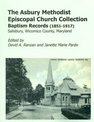The Asbury Meth. Epis. Church Collection-Baptism Records