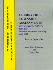 Cherrytree Township Assessments, Venango County, PA, 1807-1844