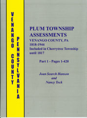 Plum Township Assessments, Venango County, PA, 1818-1944