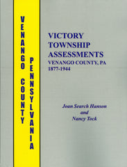 Victory Township Assessments, Venango County, PA, 1877-1944