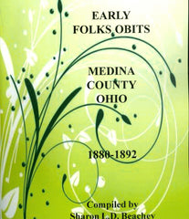 Early Folks Obits - Medina 1880-1892