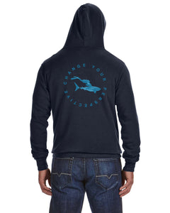 White Shark Hoody
