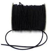 black 1mm elastic