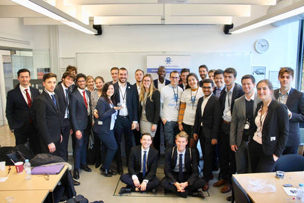 Bell visits Westminster Business School