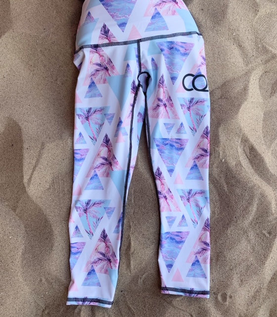CQ Retro Palm Leggings