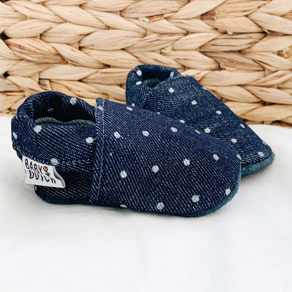 Denim dots