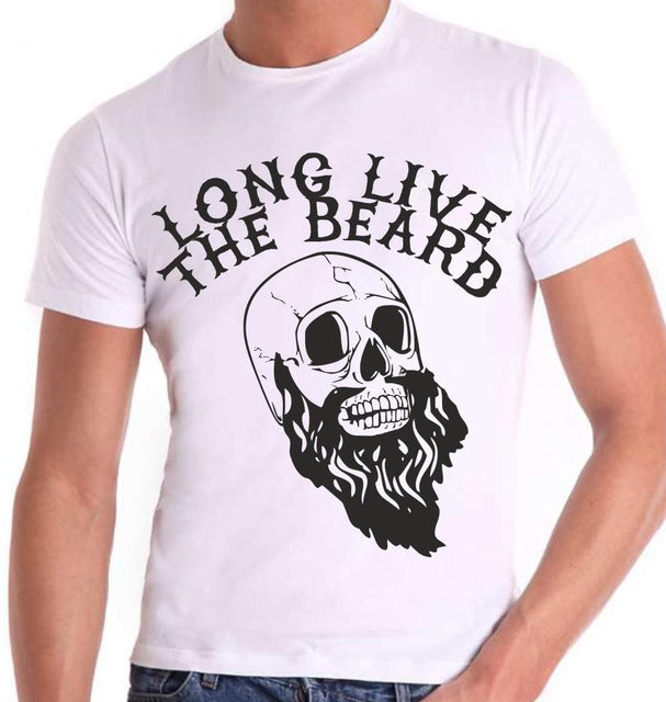 2018 New Pure Cotton Short Sleeves Hip Hop Brand in Fashion Cotton Tee Shirt Sugar Skulls Custom Printed Personalized T-Shirts