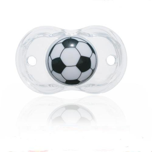 Razbaby Keep-it-Kleen Soccerball Pacifier Pacifier Three Pack