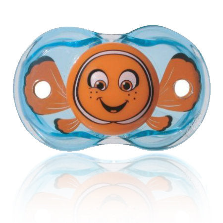 Razbaby Keep-it-Kleen Finley Clown Fish Pacifier