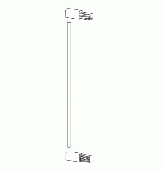 Lindam  Safety Gate Extension 7cm White