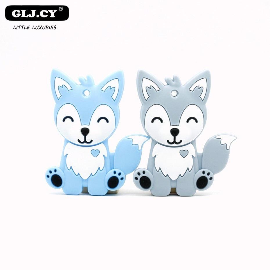 Husky Silicone Teether