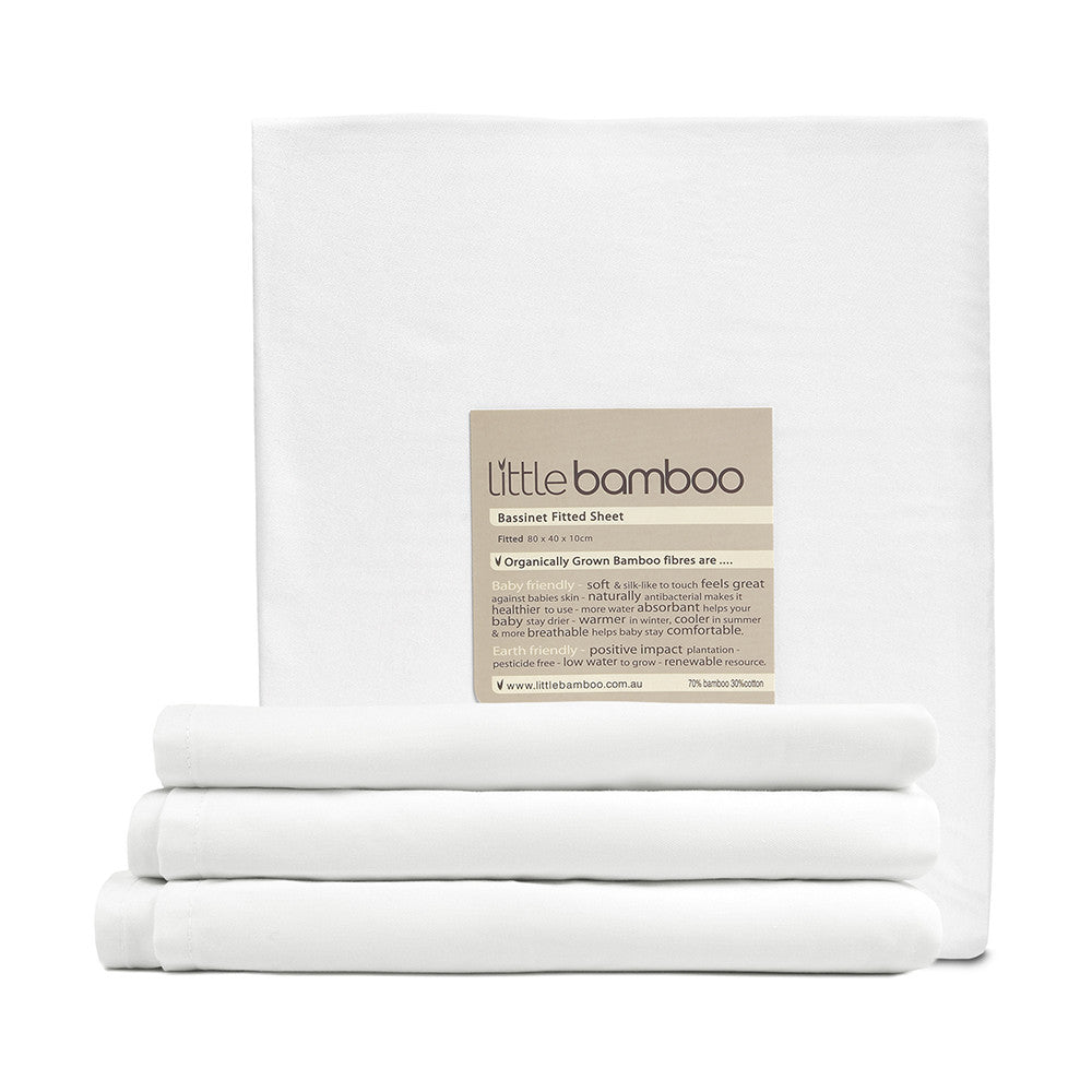 Little Bamboo - Bassinet Fitted Sheet