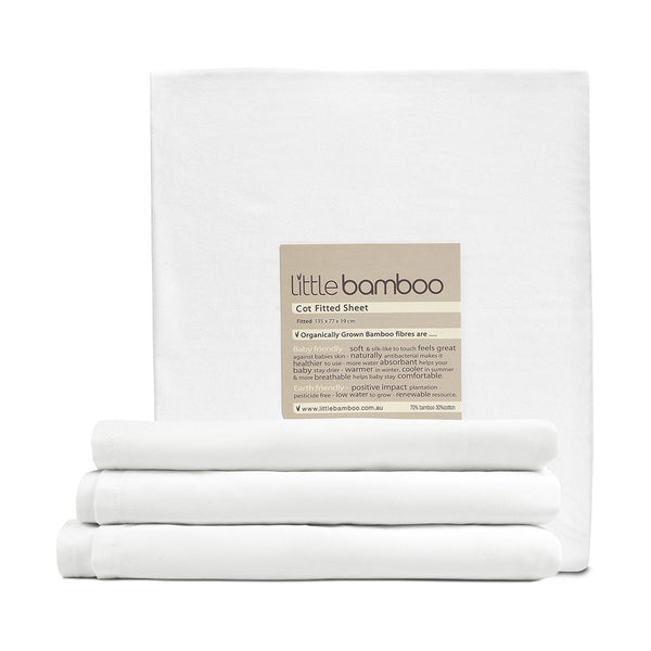 Little Bamboo - Cot/Crib Fitted Sheet