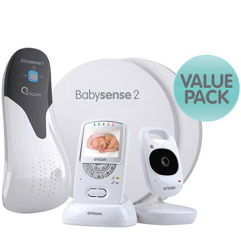 Oricom Bbysense2 + Secure710 Value Pack