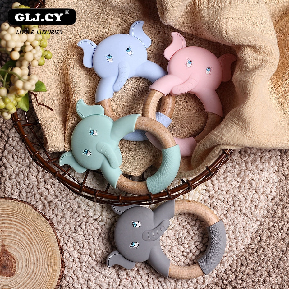 Elephant Beech Wooden Teether