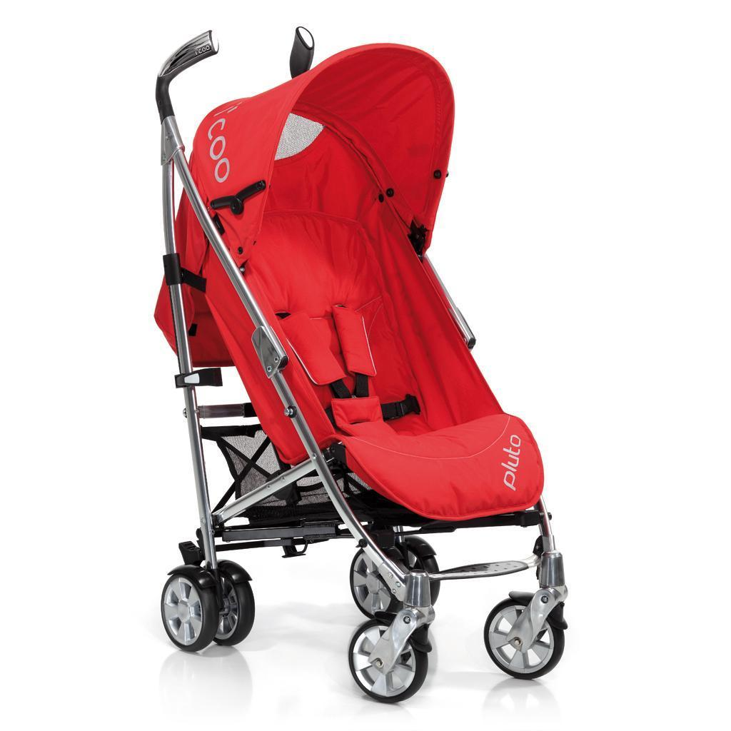 Hauck i'coo Pluto 11 Stroller Red