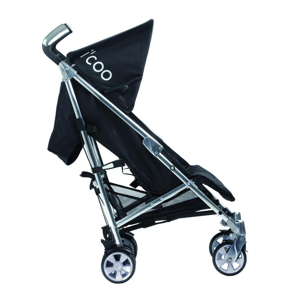 Hauck i'coo Pluto 11 Stroller Black