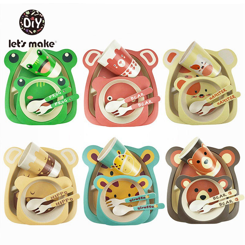 Cartoon Animal Tableware Sets