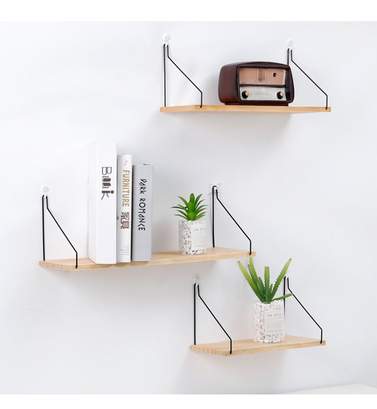 New Nordic Style Scandinavian 1PC Metal Wall Shelf