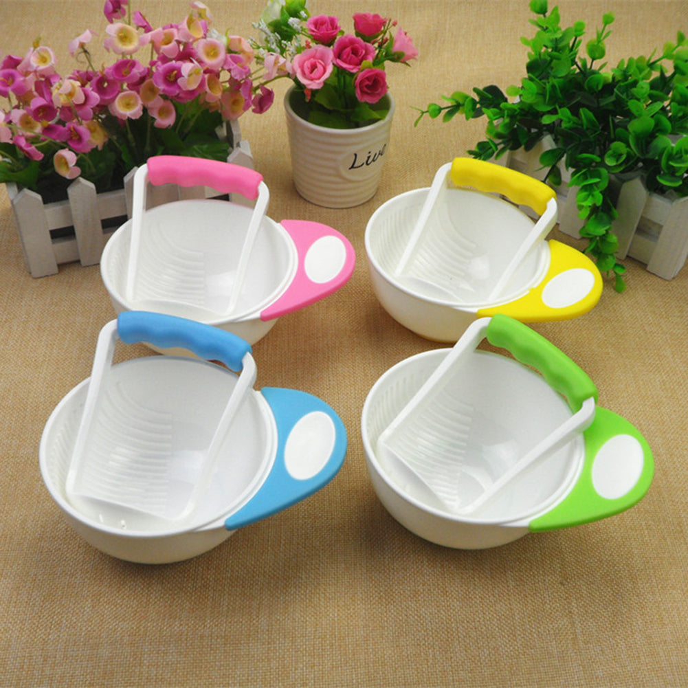 Baby Food Mills and Container Bowl Set