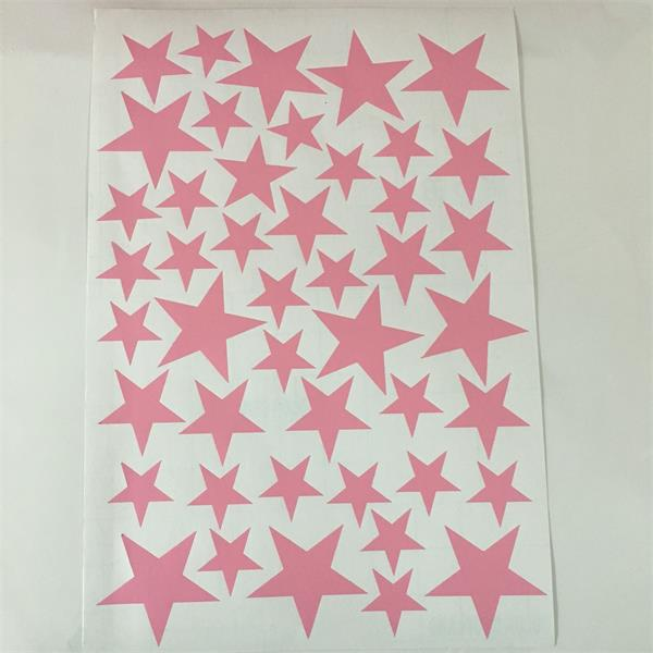 Starry Wall Stickers For Kids Rooms