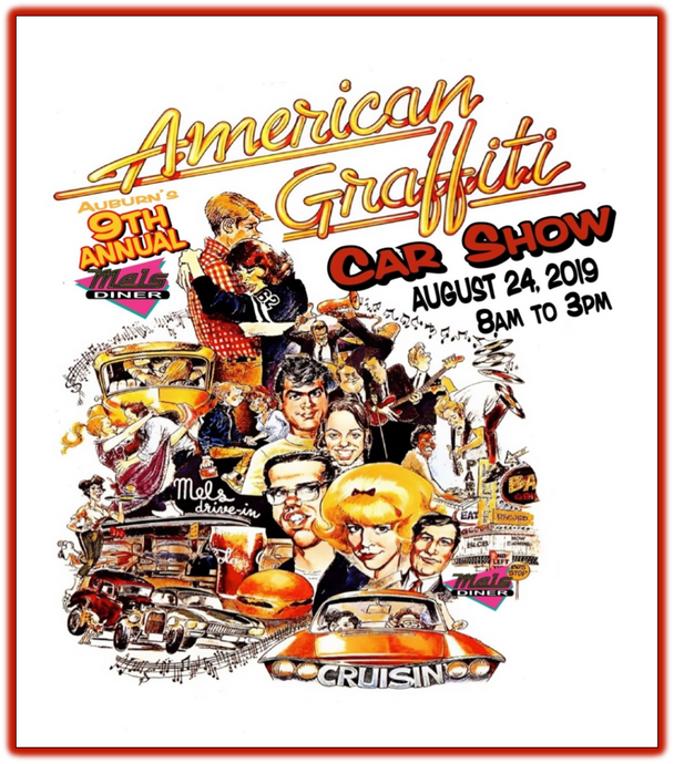 9th Annual American Graffiti Car Show 2019
