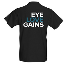 Load image into Gallery viewer, Eye Love Gains™ T-Shirt