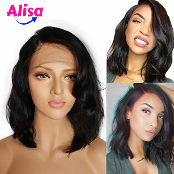 Short Bob Body Wave Wigs 13*6 Lace Frontal Wigs