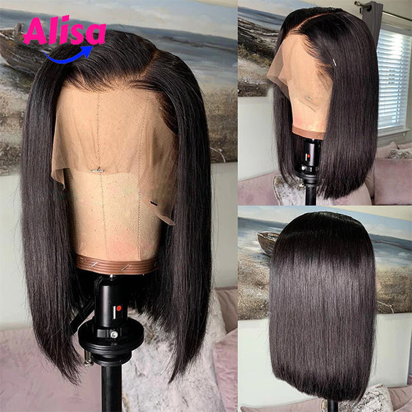 Short BOb Straight Full Lace Wigs