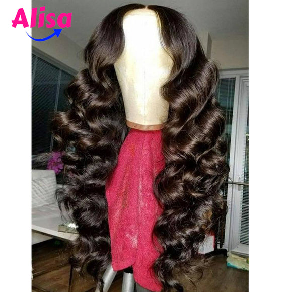 Loose Wave 13x6 Lace Frontal Wigs With Baby Hair
