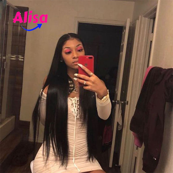 Full Lace Wigs Straiht Wigs Pre Plucked Natural Hairline