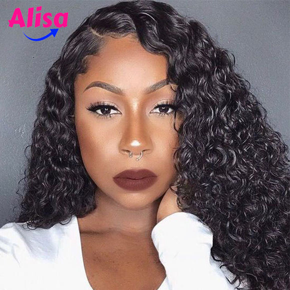 Deep Part 13x6 Wet And Wavy Curly Lace Frontal Wigs