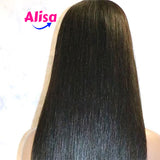Straight Full Lace Wigs Bleached Knots