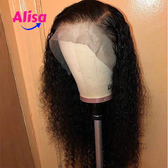 Curly Wave Wigs Full Lace Wigs Pre Plucked Natural Hairline