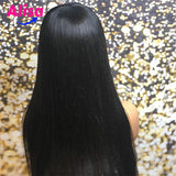 360 Lace Frontal Wigs Straight Hair Peruvian Hair