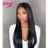 360 Frontal Lace Human Hair Wigs Straight