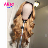 150% Density Body Wave 1b/30 Color Lace Frontal Human Hair Wigs