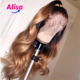 Body Wave 1b/30 Color Lace Frontal Human Hair Wigs