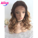 Ombre 1b/27  Body Wave Hair Lace Frontal Wigs