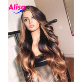 Ombre 1b/30 Color Body Wave 13x6 Lace Frontal Wigs