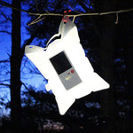 Dropshipping Inflatable Solar Light Portable Foldable PVC Air Bag Lamp LED Emergency Lantern for Camping Hiking Travel