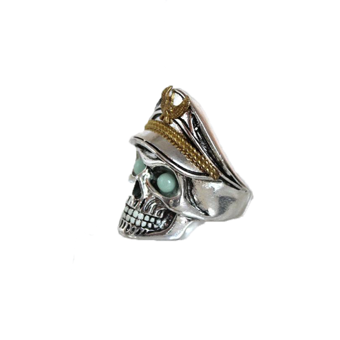Officer Skull Glow Ring