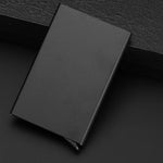 New Automatic Silde Aluminum ID Cash Card Holder Men Business RFID Blocking Wallet Credit Card Protector Case Pocket Purse