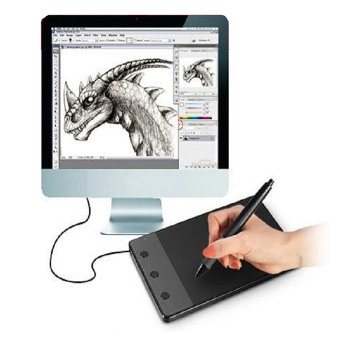 USB Graphics Drawing Tablet