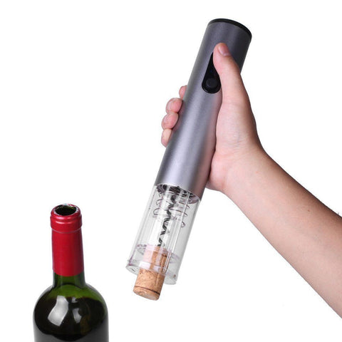Cordless Wine Bottle Opener Stopper